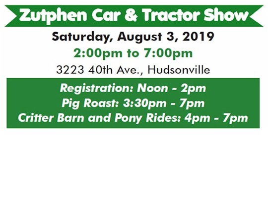 2019 Classic Car & Tractor Show...
